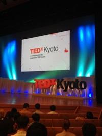 課外活動: TEDx京都に行ってきました